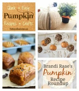 Quick and Easy Pumpkin Recipes and Crafts {Link Party 106}