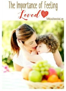 The Importance of Feeling Loved {Coupon}