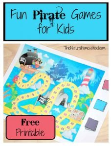 Fun Pirate Games for Kids {Printable}