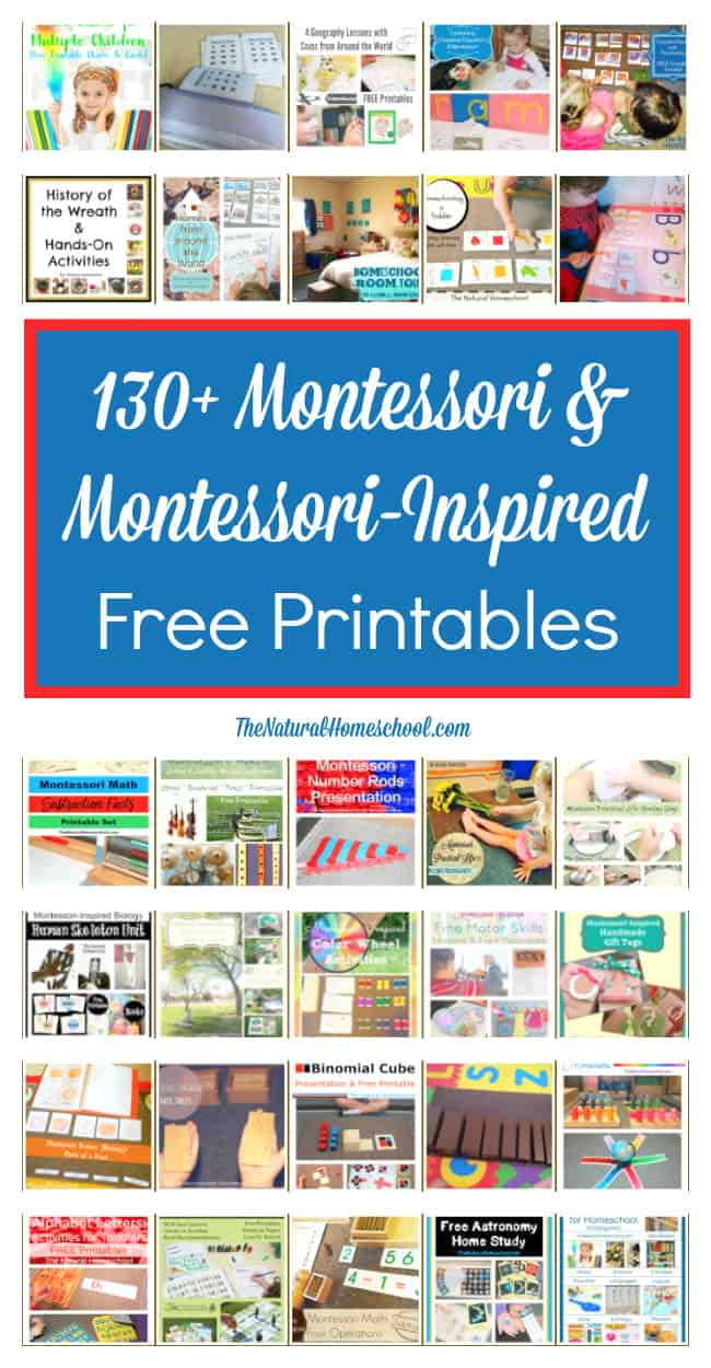 Here are some amazing posts that you will love. They are all Montessori & Montessori-inspired posts.