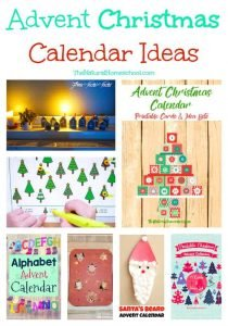 Advent Christmas Calendar Ideas {Link Party 118}