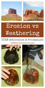 Erosion vs Weathering ~ Awesome Science STEM Activities