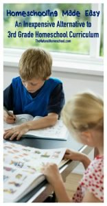 An Inexpensive Alternative to Third Grade Homeschool Curriculum