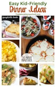 Easy Kid-Friendly Dinner Ideas {Link Party 122}