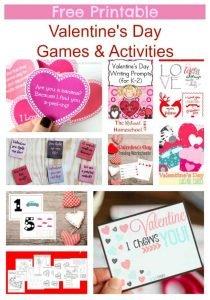 Free Printable Valentine's Day Games & Activities