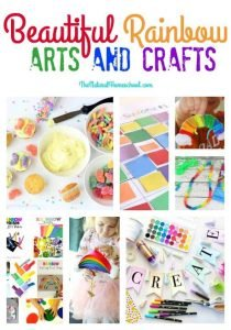 Beautiful Rainbow Arts and Crafts