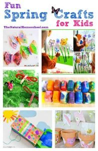 Fun Spring Crafts for Kids