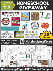 Notebooking Pages HUGE GIVEAWAY IS HERE! Today Only!