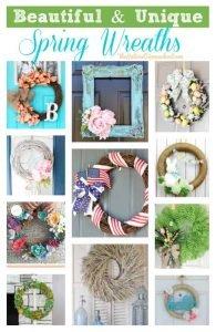 Beautiful & Unique Spring Wreaths