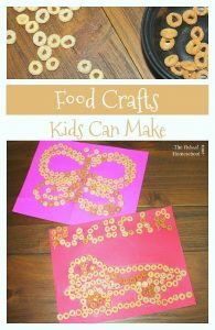 Food Crafts Kids Can Make