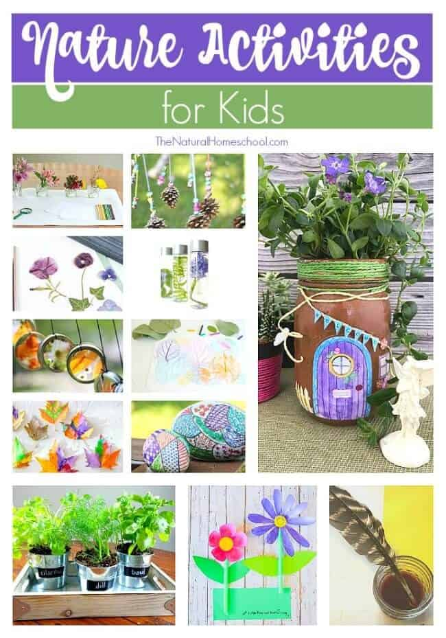 This is a great list of posts that bring you beautiful advice to make Nature Activities for Kids a wonderful experience. Include your children in the reading.