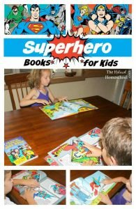Superhero Books for Kids {Awesome Giveaway!!!}