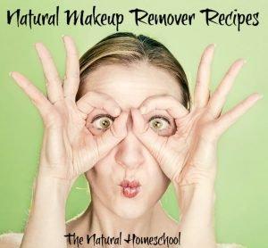 Natural Makeup Remover Recipes