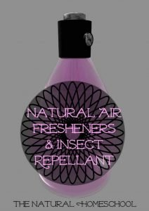 Natural Air Fresheners & Insect Repellant