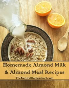 Homemade Almond Milk and Almond Meal Recipes