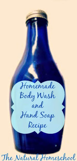 Let's learn how to make some homemade body wash and hand soap using essential oils.