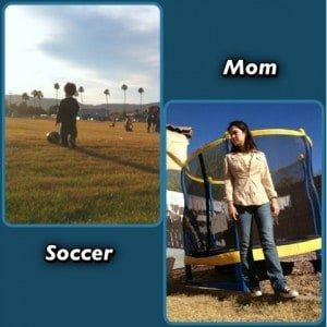 January 2013 Soccer Mom!