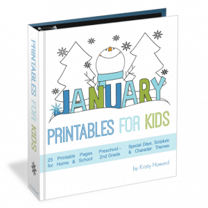 January Printables for Kids