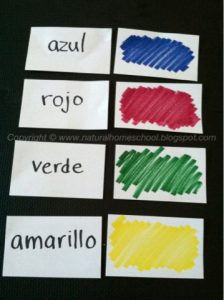 Spanish Lessons for Preschoolers & Kindergartners with Free Printables (Part 2)