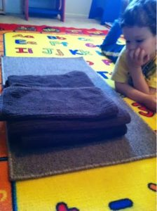 Montessori Practical Life: How to Fold Towels