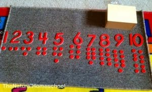 Montessori Math: Numbers and Counters (Introduction to Odd and Even)