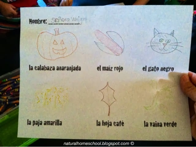 Spanish Lessons for Preschoolers and Kindergartners (Part 2)
