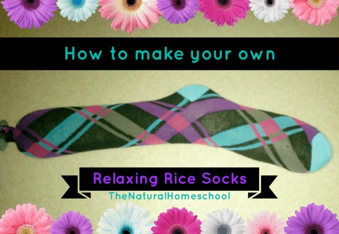 How to make your own muscle-relaxing rice socks