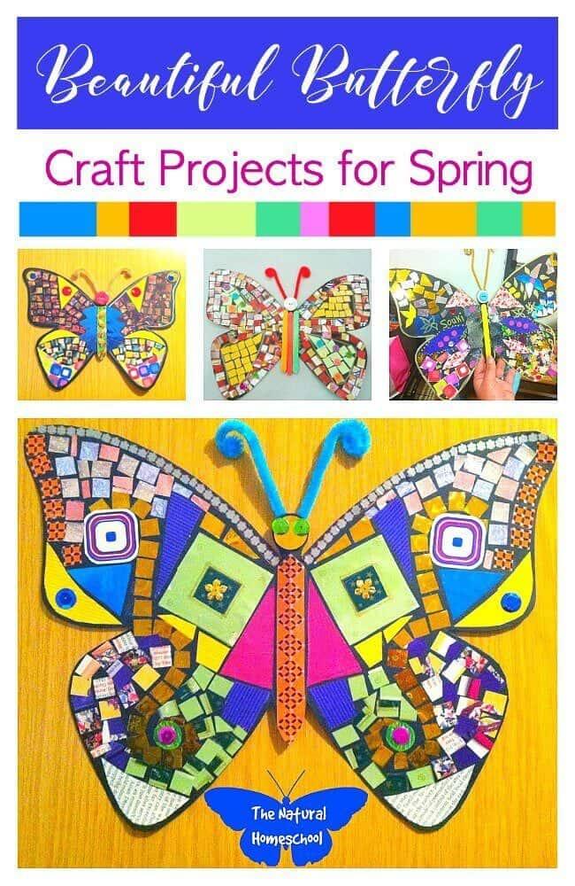 We have it all here! You will want to bookmark this post and set it as your go-to resource to get lots of ideas! Come and take a look at the best list of fun Spring crafts for kids!