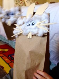 Easy Bunny Rabbit Puppet Craft