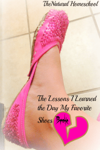 The Lessons I Learned the Day my Favorite Shoes Broke