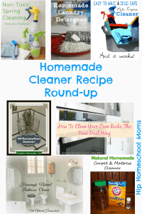 Homemade Cleaners Round-up