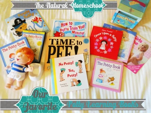 potty learning books