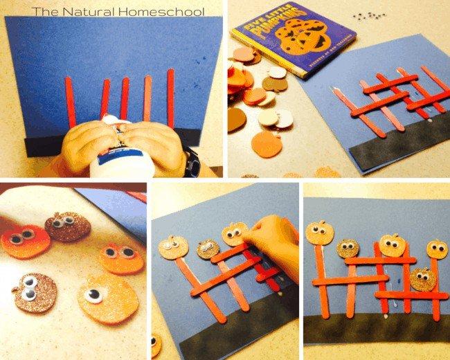 2 Fun Pumpkin Crafts for Tots and Preschoolers
