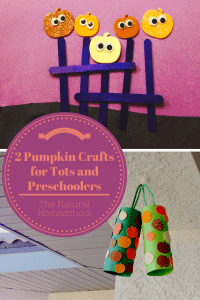 2 Fun Pumpkin Crafts for Tots and Preschoolers
