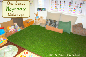 Our Sweet Playroom Makeover