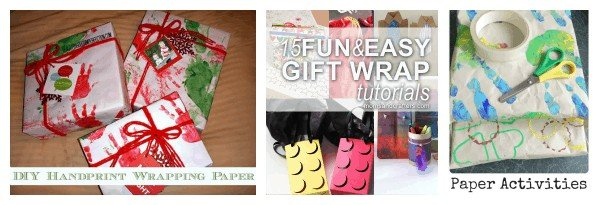 Welcome to our DIY wrapping paper and gift-wrapping ideas round-up!