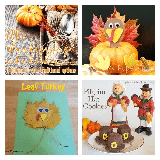 This is a linky party with recipes, homeschool activities and home decorations.