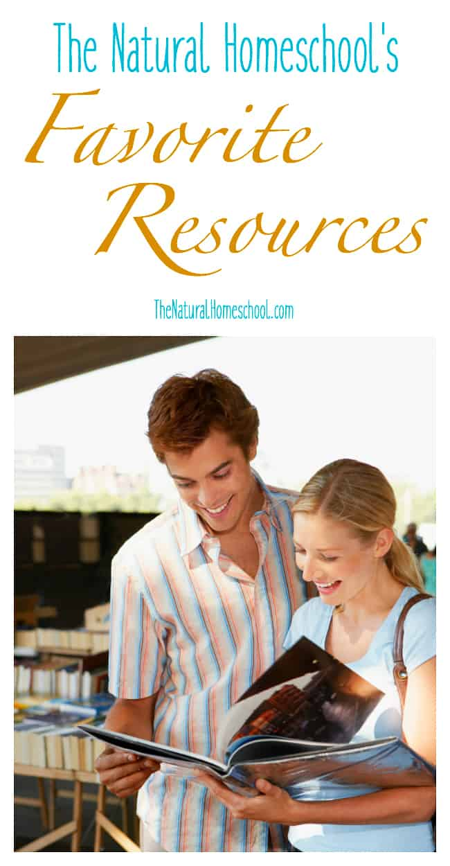 I am so excited to share with you the resources that we have used and that we love. I have divided the list into three main groups: Homeschool Resources, Lifestyle Resources and Blogging Resources.