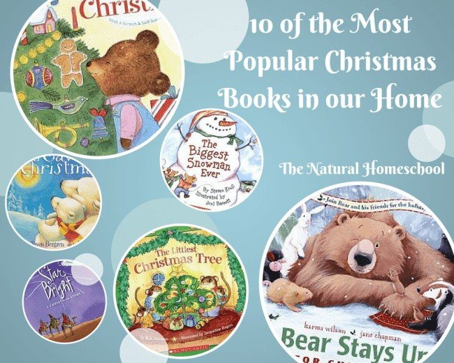 10 of the Most Popular Christmas Books in Our Home
