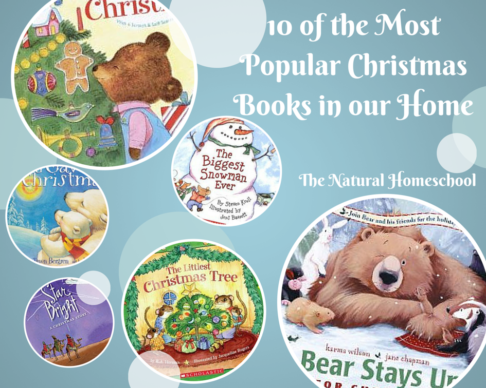 Most Popular Christmas Books In Our Home The Natural Homeschool