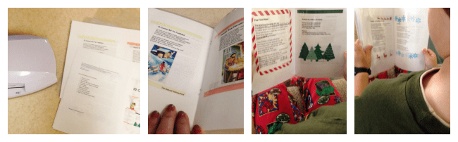 photograph relating to Printable Christmas Carols Booklet known as 10 Xmas Carols Absolutely free Printable Pack - The Natural and organic Homeschool