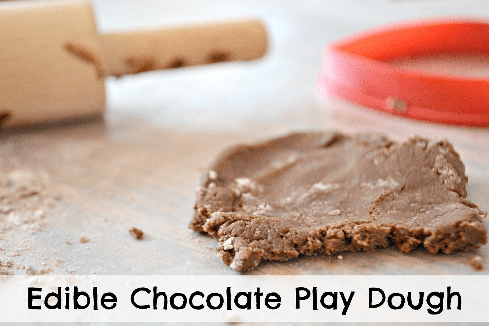 edible chocolate play dough