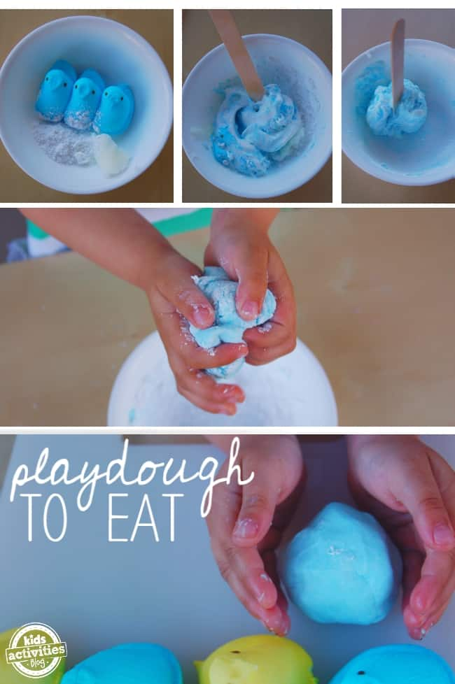 edible play dough recipe