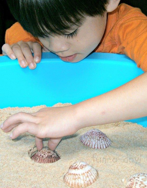 toddler safe play sand