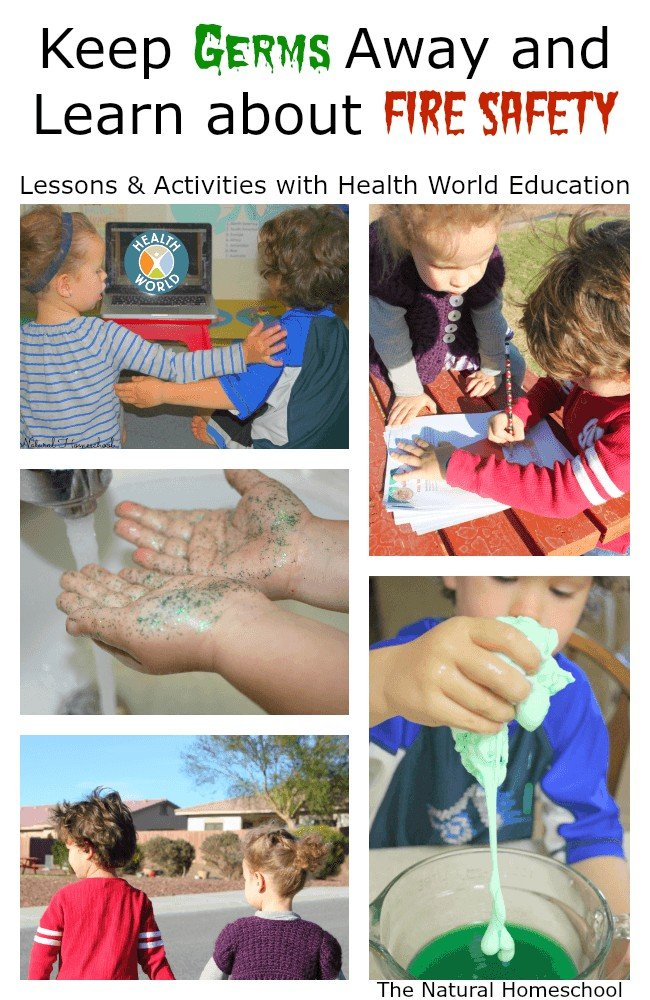Germs and Fire Safety with Health World Education