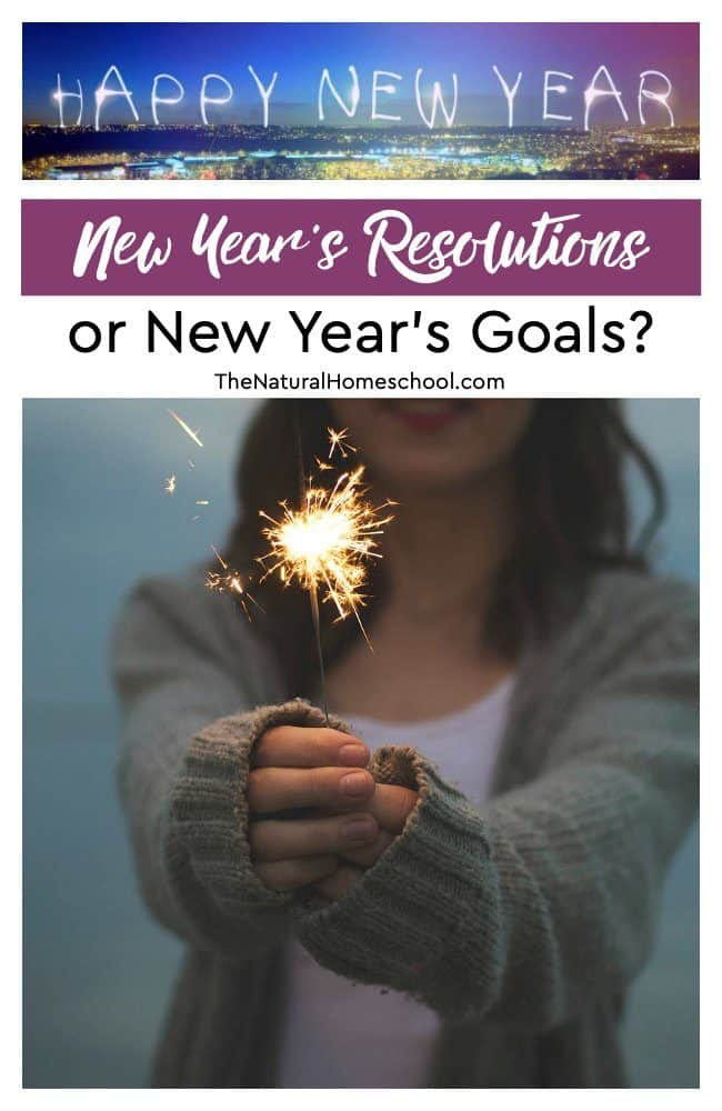 Almost everyone sees the New Year as a clean slate… a time to start afresh… a time to start new things… a time to try to complete that which we didn't the previous year… So... what is it for you? New Year's Resolutions or New Year's Goals?