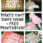 pirate unit game ideas and free printable