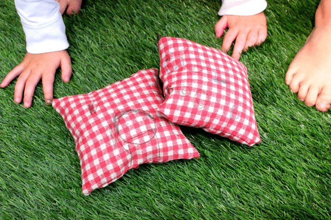 Montessori-Inspired Practical Life: Decorating and Sewing a Small Pillow