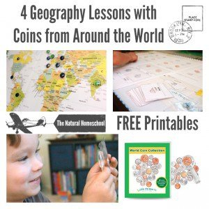 Coins from Around the World Geography Lessons (FREE Printables)
