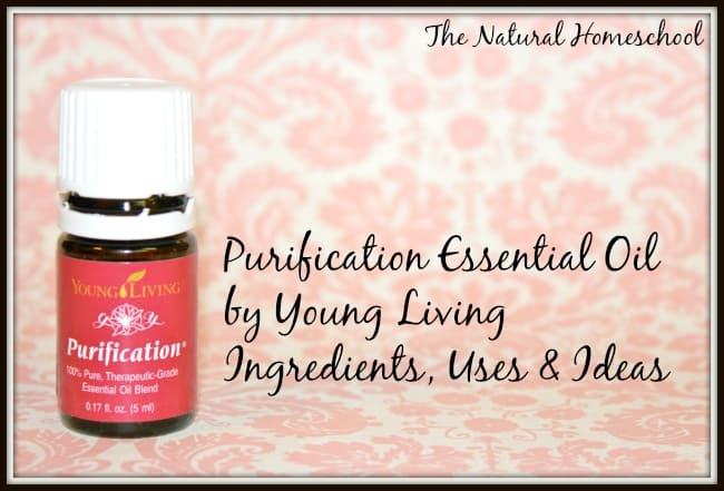 Purification Essential Oil: Ingredients, Uses & Ideas (Free Printable)